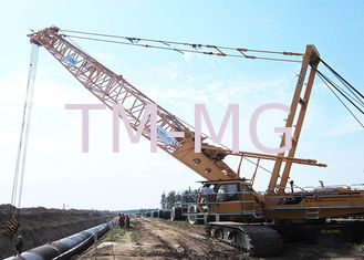 China Durable Knuckle Boom Jib Hydraulic Crawler Crane For Lifting 180tons Goods supplier