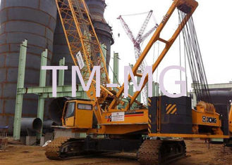 China Knuckle Boom Length 81m Hydraulic heavy lifting cranes 150ton XGC150 supplier