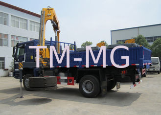 China High Quality 5T Mobile Knuckle Truck Mounted Crane With Safety Transportation for Sale supplier