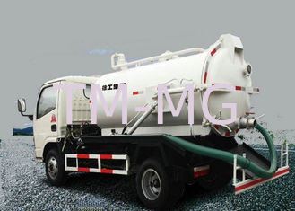 Safety Reliable Special Purpose Vehicles , 6.5L Transport Sewage Vacuum Truck