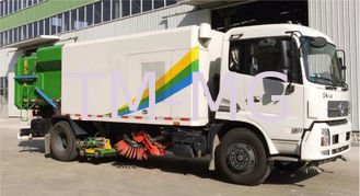 China High Pressure Washing Road Sweeper Truck Special Purpose Vehicles With 8tons supplier