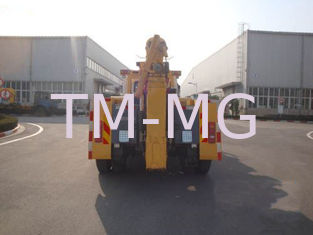 China Durable Road Safe Wrecker Tow Truck , 40KN Road Wrecker With 1 Winch supplier