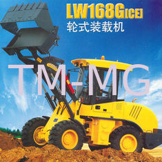 China 1.6Tons LW168G Mini Loader Heavy Earthmoving Machinery For Narrow Area supplier