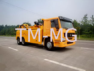 China Wrecker Tow Truck , 3 Winches Road Wrecker For Accidents And Parking Violations supplier