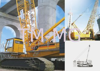 China Jib Tracked Hydraulic Crawler Crane QUY130, Knuckle Boom Crane for Lifting Heavy Things supplier