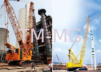China Durable XCMG Mobile Hydraulic Crawler Crane QUY650 With Heavy Light Boom supplier