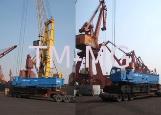 China Heavy Lifting QUY450 Hydraulic Crawler Crane, 60 Ton And Jib Length 35m supplier