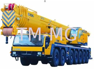 China Durable 7-Axle Chassis Hydraulic Mobile Crane , 5-Axle Steering QAY300 All Terrain Crane supplier
