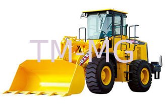 China High Strength LW400KN Wheel Loader Earthmoving Machinery , Convenient Driving supplier