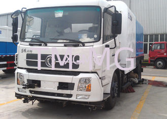China High Pressure Special Purpose Vehicles Washing Road Sweeper Truck 8tons With Washer supplier
