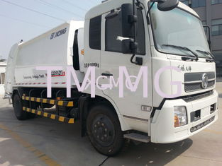 China Garbage Compactor Truck Special Purpose Vehicles , Self Dumping Rear Loader Garbage Trucks supplier