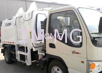 China PLC Hydraulic System Special Purpose Vehicles Garbage Compactor Truck supplier