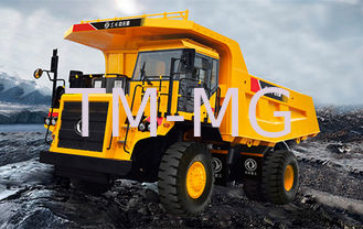 China Hybrid Power Coal Unloading Equipment , 45 Ton Electric Mining Dump Truck supplier