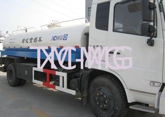 China Ellipses Special Purpose Vehicles , Water Tanker Truck For Green Belt And Lawn Irrigation supplier