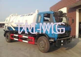 Vaccum 6.5L Special Purpose Vehicles , Sewage Suction Pump Truck DFL1120B1