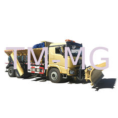 China SX5250TCXXB4 Special Purpose Vehicles Triple Snow Shovels Snow Sweeper Truck supplier