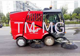 China Multifunction Mini Street Sweeper Machine 2.2m Cleaning Width 10km/H supplier