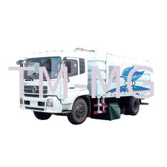 China Wet And Dry Road Sweeper Machine / Street Sweeper Truck With 2L Water Tank supplier