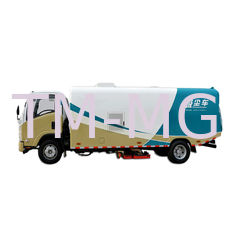 China Diesel Fuel Type Special Purpose Vehicles Vacuum Street Sweeper Truck supplier