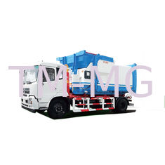 China Small Unloading Type Special Purpose Vehicles Automatic And Manual Garbage Truck supplier
