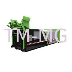 China 18 Mpa Garbage Collection Equipment Mobile Garbage Compactor Bin supplier