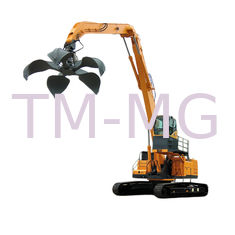 China Electric Motor 42 Ton Material Handling Machine Diesel Engine Crawler Material Handler supplier
