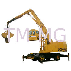China Dual Fuel Power Generator Material Handling Machine 33T Wheeled Material Handling Equipment supplier
