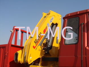 China Effective 5T Knuckle Boom Truck Mounted Crane Lifting For Landscape Jobs supplier