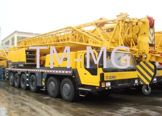 China Heavy 100 Ton Truck Crane Hydraulic Mobile Crane QY100k With Plug-In Boom Head supplier