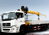 China Hydraulic Telescopic Truck With Crane 16.5 Meters Lifting Height company