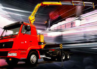 China High Quality 5T Mobile Knuckle Truck Mounted Crane With Safety Transportation for Sale company