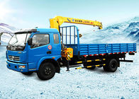 China Durable Wire Rope Telescoping Truck Mounted Crane 1105kg With 30L Oil Tank company
