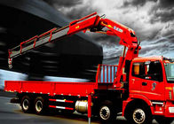 Durable 16 Ton Knuckle Boom Truck Mounted Crane For Heavy Things Lifting
