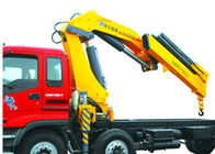 China High Lifting Capacity 14T Knuckle Boom Truck Mounted Crane For Transporting Heavy Things factory