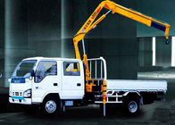 Good Quality Boom Truck Crane & XCMG Durable Arm Move Fast Articulated Boom Crane , 3.2 Ton Truck With Crane on sale