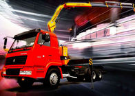 China 5 Ton Knuckle Boom Truck Crane , Light Truck Loader Crane Cargo use company