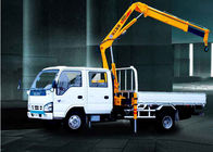 China 3200kg   knuckle boom crane Truck Mounted 6.72 T.M Lifting commercial company