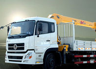 China New XCMG hydralic Telescopic Boom Truck Loader Crane , 8T Truck Mounted Crane CE ISO factory