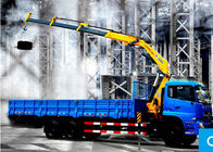 China Knuckle Boom Truck Crane / 10 ton mobile crane XCMG  For City Construction company