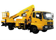 China Reaching Up And Over Machinery Truck Mounted Lift 3 Persons loading factory
