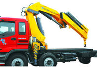 China Vehicle mounted 14 Ton Knuckle Boom Truck Crane For Transporting Heavy Things factory