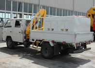 China Advanced 2T Heavy Things Articulated Boom Crane For City Construction company