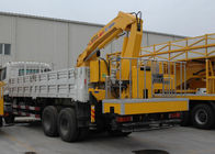 China Durable 5T Wire Rope Raise Articulated Boom Crane , 25 L/min Oil Flow company