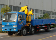 China High Quality Commercial Knuckle Boom Truck Mounted Crane , 6300kg Weight for Lifting factory