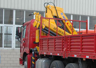 Good Quality Boom Truck Crane & Durable Mobile Commercial Knuckle Boom Truck Mounted Crane For Safety Transport on sale