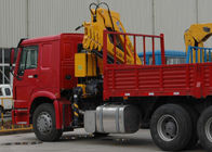 China Durable XCMG Knuckle Boom Truck Mounted Crane , Cargo Crane Truck factory