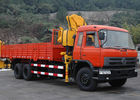 China Durable XCMG 10 ton Knuckle Boom Truck Mounted Crane For Lifting Heavy Things company