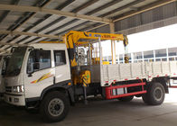 China Durable Wire Rope Telescoping Truck Mounted Crane 1105kg With 30L Oil Tank factory