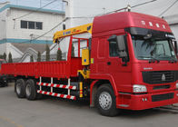 China 5 Ton Hydraulic Truck Loader Crane , 32 L/min 10m Max Reach with Low Price factory