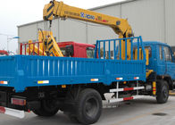 China Durable Safety XCMG Transporting Telescopic Boom Truck Mounted Crane, 13m Height factory
